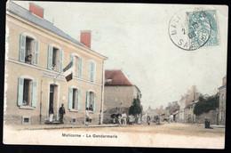 Malicorne (Sarthe 72) La Gendarmerie - Polizei - Gendarmerie