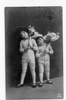 DC5817 - Ak Schöne Motivkarte Junge Mädchen Kleine Kinder Mode Interessante Karte - Retratos