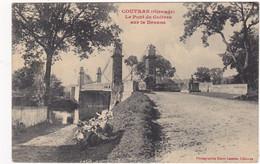 CPA:  COUTRAS ; Le Pont De Guitres Sur La Dronne - Other Municipalities