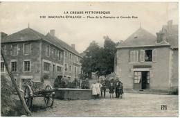 MAGNAT L'ETRANGE - Place De La Fontaine Et Grande Rue - Altri Comuni