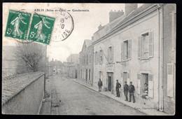 Ablis (Seine & Oise, 78) Gendarmerie - Polizei - Gendarmerie