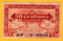 Algeria 50 C., Serie F - 97b - Algeria