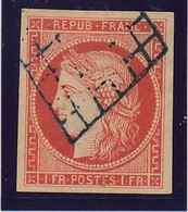 FAUX Vermillon N° 7 TB. - 1849-1850 Cérès