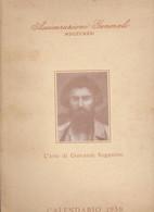 PUBBLICAZIONE CON CALENDARIO 1959 :L'  ARTE DI GIOVANNI SEGANTINI  CON  10  TAVOLE  A  COLORI  APPLICATE - Big : 1941-60