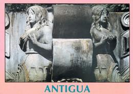 1 AK Guatemala * Detalle De La Fuente In Der Stadt Antigua Guatemala * - Guatemala