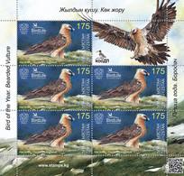 Kyrgyzstan 2021 Fauna. Bird Of Prey. Sheetlet** - Kirgisistan