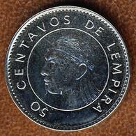 Honduras 50 Centavos 2014, KM#84a.2, Unc - Honduras