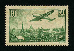 FRANCE - POSTE AERIENNE - YT PA 14 * - SIGNE - TIMBRE NEUF * - 1927-1959 Neufs