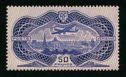FRANCE - POSTE AERIENNE - YT PA 15 * - TIMBRE NEUF * - 1927-1959 Neufs