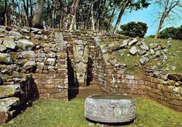 1 AK Honduras * Copán - Eine Bedeutende Stadt Der Maya - Seit 1980 UNESCO Weltkulturerbe - Krüger Karte * - Honduras