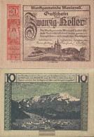 Mariazell Notgeld The City Mariazell Uncirculated 1920 20 Bright - Austria