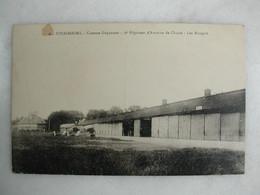 MILITARIA - STRASBOURG - Caserne Guynemer - 2ème Régiment D'aviation De Chasse - Les Hangars (avec Avions) - Casernas