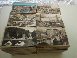 GROS LOT DE 2000 CARTES POSTALES FRANÇAISE SEMI-MODERNE - FORMAT CPA - 500 Postcards Min.