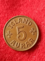 Iceland 5 Aurar 1942 KM7.2 - Iceland