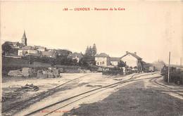 58-OUROUX- PANORAMA DE LA GARE - Other Municipalities