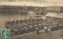Cherbourg   L'ARSENAL    Les  Torpilleurs - Cherbourg