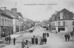 CONCARNEAU - La Grande Rue - Gâteaux Bretons Jegoudez - Crédit Lyonnais - Bien Animé - Concarneau