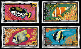WALLIS ET FUTUNA 1978 - Yv. PA 76 77 78 Et 79 **   Cote= 19,00 EUR - Poissons : Balistes, ... (4 Val.)  ..Réf.W&F23171 - Unused Stamps