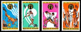 WALLIS ET FUTUNA 1975 - Yv. PA 63 64 65 Et 66 ** Cote= 23,00 EUR - Jeux Sportifs Pacifique-Sud (4 Val.)  ..Réf.W&F23166 - Unused Stamps