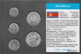 North-Korea Stgl./unzirkuliert Kursmünzen Stgl./unzirkuliert 1959-1987 1 Chon Until 1 Won - Korea, North