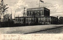 Wilhelmshaven - Elisenlust, 1906 Nach Frankfurt / Main Versandt - Wilhelmshaven