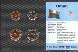 Oman Stgl./unzirkuliert Kursmünzen Stgl./unzirkuliert 1990-1999 5 Baiza Bis 50 Baiza - Oman
