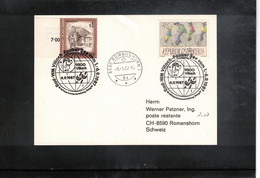 Austria / Oesterreich 1987 World Cycling Championship Villach - Faaker See Interesting Cover - Ciclismo