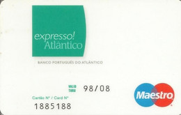 PORTUGAL - BPA - Expresso Atlântico - Credit Cards (Exp. Date Min. 10 Years)