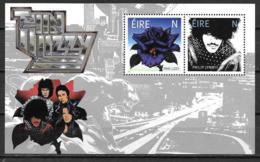 Irlande 2019 Bloc Neuf Thin Lizzy Et Philip Lynott - Hojas Y Bloques