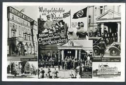 Weltgeschichte Am Rhein,22.9.1938,Hitler U. Chamberlain In Bad Godesberg - Guerra 1939-45