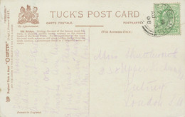 "GB SCOTTISH VILLAGE POSTMARKS ""STIRLING"" Very Fine Strike (26mm, Time Code ""2 PM"") Superb Tuck's Oilette Postcard 1908 - Scotland"