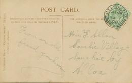 "GB SCOTTISH VILLAGE POSTMARKS ""STIRLING"" Superb Strike (24mm, Time Code ""4 15PM"") Superb RP Postcard (Queenie Leighton) - Scotland"
