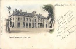 CPA Dôle La Gare De Dôle-Ville - Dole