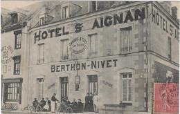 41   Saint Aignan   Sur Cher   - Hotel Saint Aignan   Berthon - Nivet - Saint Aignan