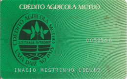 PORTUGAL -Crédito Agrícola Mutuo - Credit Cards (Exp. Date Min. 10 Years)