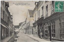 41   Saint Aignan   Sur Cher   - Grande Rue Cote Sud - Saint Aignan