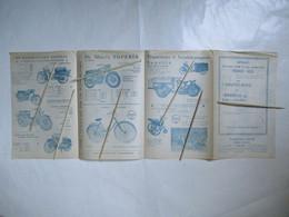 1959 FOLDER Werkhuizen SUPERIA   Remi  CLAEYS   ZEDELGEM Samen MONSTER- TOMBOLA Steun POSTAGENTEN - Zedelgem