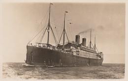 """RP: Steamer """"MOBILE"""" , White Star Line , 1908-1933 - Dampfer"""