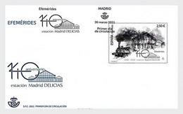 Spanje / Spain - Postfris / MNH - FDC 140 Jaar Station Madrid 2021 - 2011-... Unused Stamps