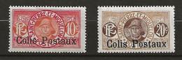 SAINT PIERRE ET MIQUELON 1917 . Colis Postaux  N°s 3 Et 4 . Neufs ** (MNH) - Ungebraucht