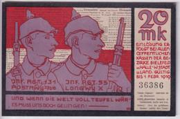 Notgeld Allemagne Kriegsnotgeld 20 Mark Bielefield- 01/02/1919 - Sup / XF - Collections