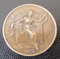 Portugal - Monnaie 1 Escudo 1924 - Portugal