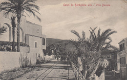 2057)  Saluti Da BORDIGHERA Alta VILLA BANANA -very Old !! - Unclassified