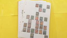 Lot N° TH 392 HONGRIE Et Divers  Collection Sur Page D'albums - Sammlungen (im Alben)