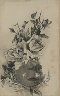 Catharina KLEIN - Roses En Noir Et Blanc - Klein, Catharina
