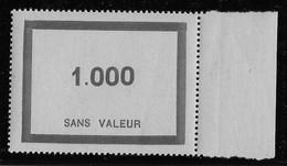 France Fictifs N° F95 - Neuf ** Sans Charnière - TB - Phantom