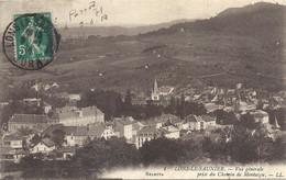 CPA Lons-Le-Saunier Vue Générale Prise Du Chemin De Montaigu - Lons Le Saunier
