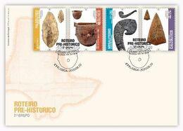 Portugal & FDC Prehistoric Roadmap II Series Group 2020 (768684) - FDC