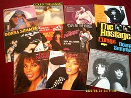 Collection De 11  Vinyles Differents De Donna Summer - Collezioni