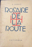 Bois Gravé De Jijé Dans Le Rosaire De La Roure De G.Dubois EO - Zonder Classificatie